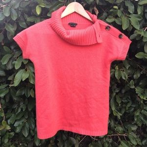 Theory cashmere short sleeve sweater sz S/XS